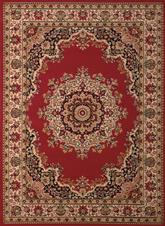 United Weavers Dallas  Floral Kirman Red