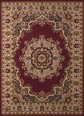United Weavers Dallas  Floral Kirman Burgundy