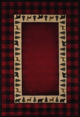 United Weavers Genesis Buffalo  Red