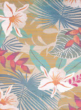 United Weavers Regional Concepts Flower Jungle Tropical