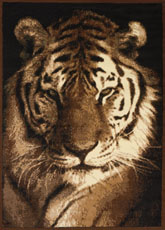 United Weavers Legends Tiger Portrait Black