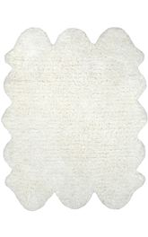 nuLOOM Hand Tufted Sexto Pelt Faux Sheepskin HCSS01